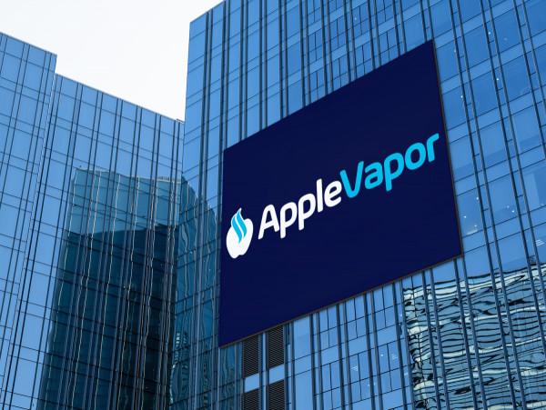 Sample branding #1 for Applevapor