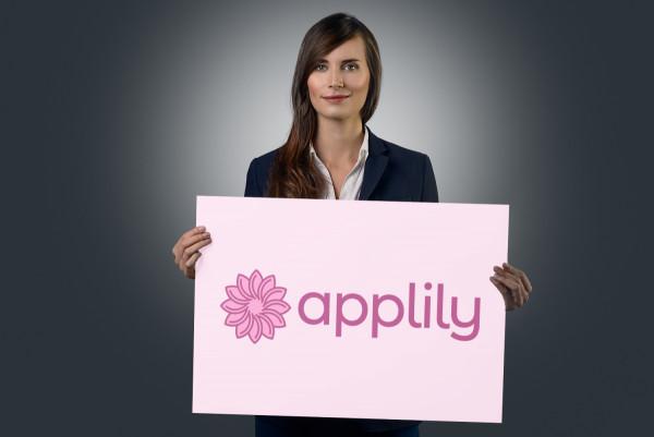Sample branding #1 for Applily