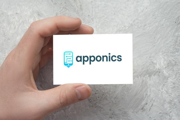 Sample branding #3 for Apponics