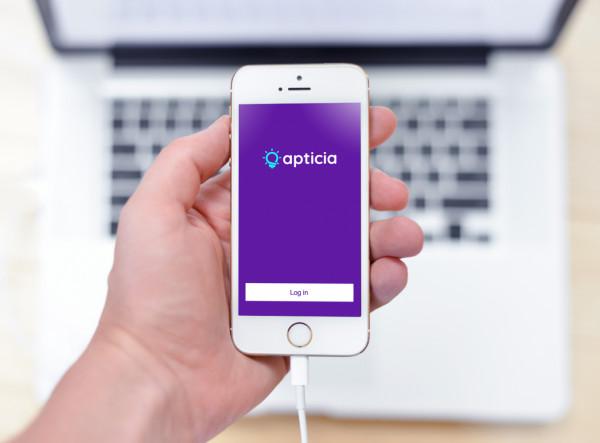Sample branding #1 for Apticia