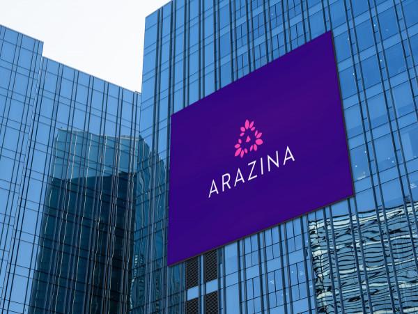 Sample branding #3 for Arazina