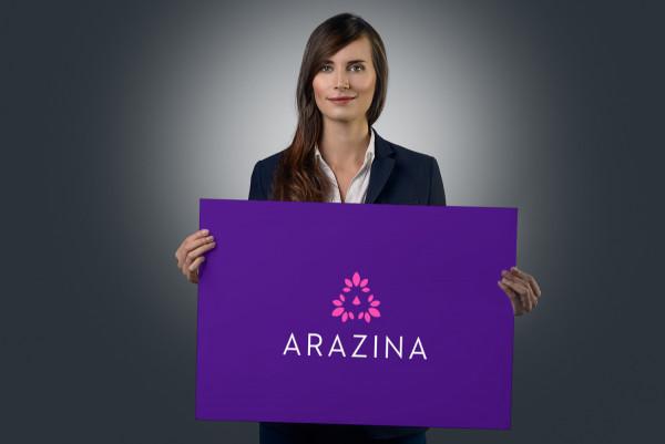 Sample branding #1 for Arazina