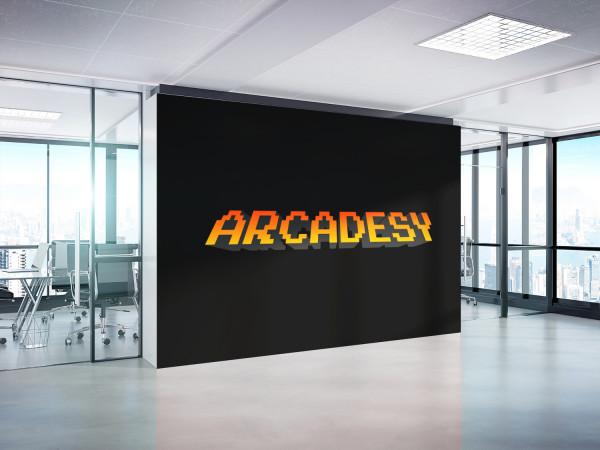 Sample branding #1 for Arcadesy