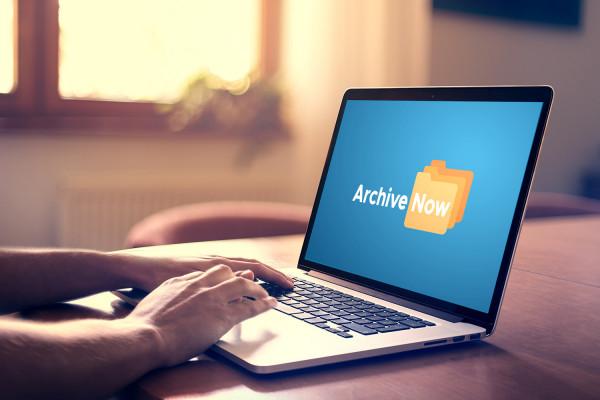 Sample branding #3 for Archivenow