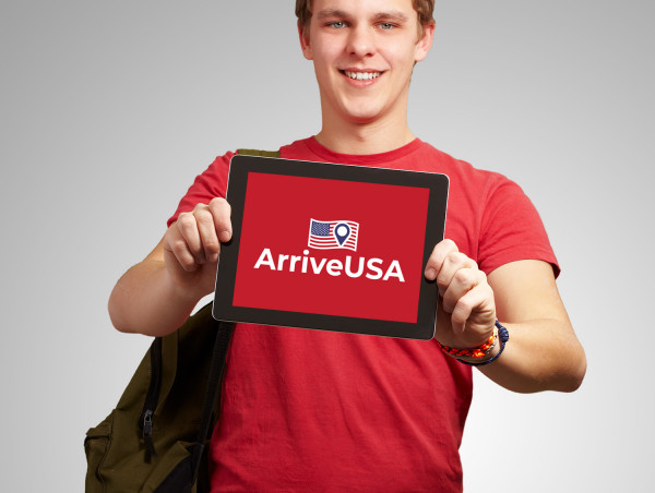 Sample branding #1 for Arriveusa