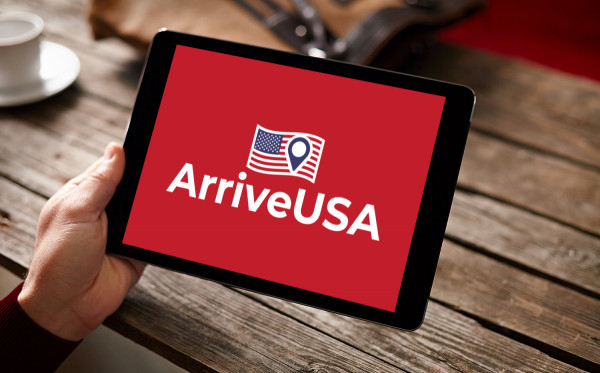 Sample branding #2 for Arriveusa