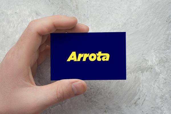 Sample branding #1 for Arrota