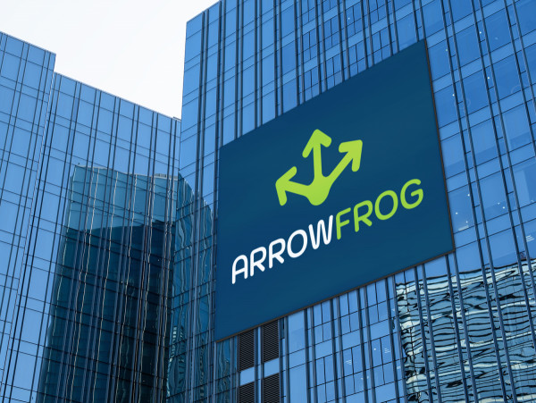 Sample branding #1 for Arrowfrog
