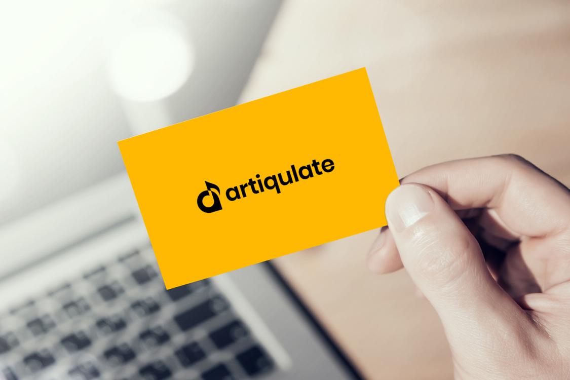 Sample branding #1 for Artiqulate