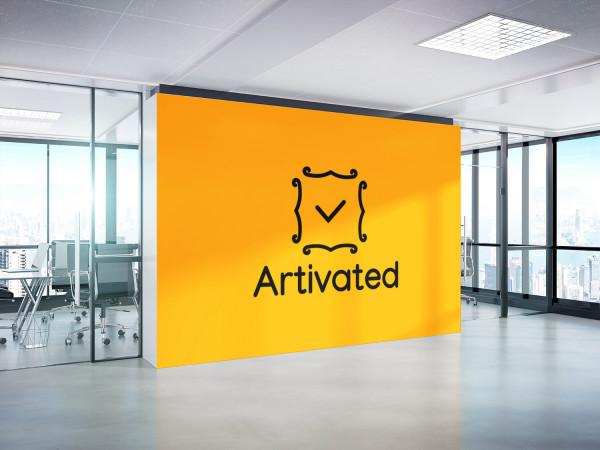 Sample branding #1 for Artivated