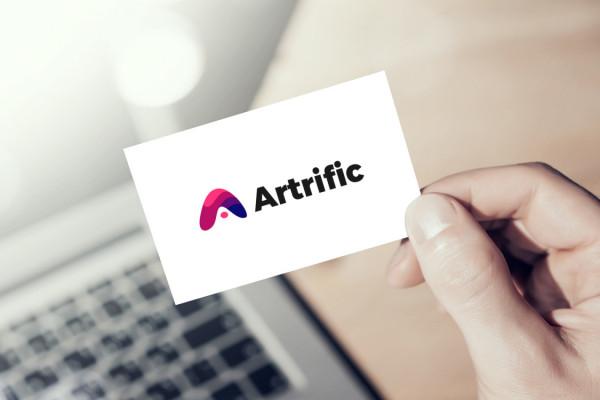 Sample branding #1 for Artrific