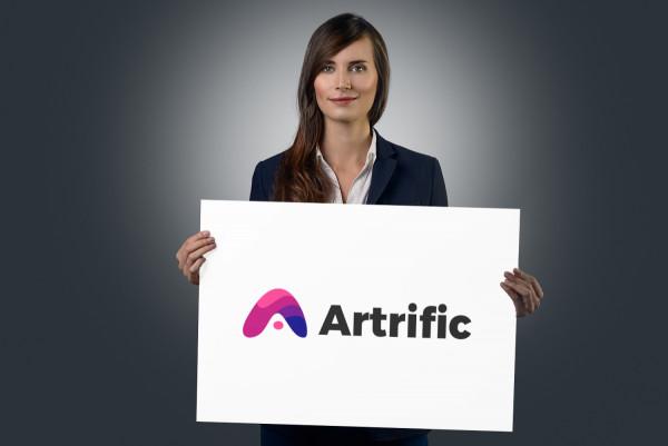 Sample branding #3 for Artrific