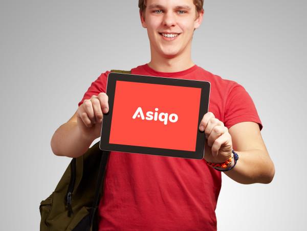 Sample branding #3 for Asiqo