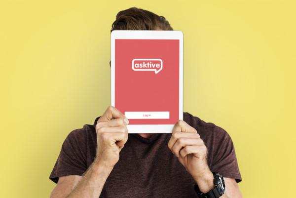 Sample branding #2 for Asktive
