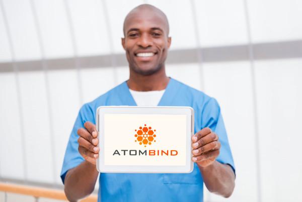 Sample branding #3 for Atombind