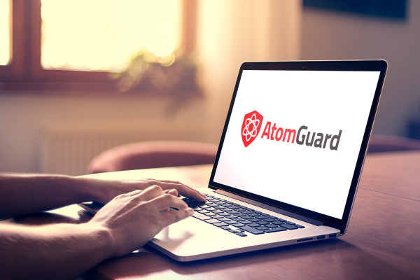 Sample branding #2 for Atomguard
