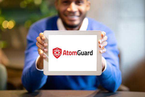 Sample branding #1 for Atomguard