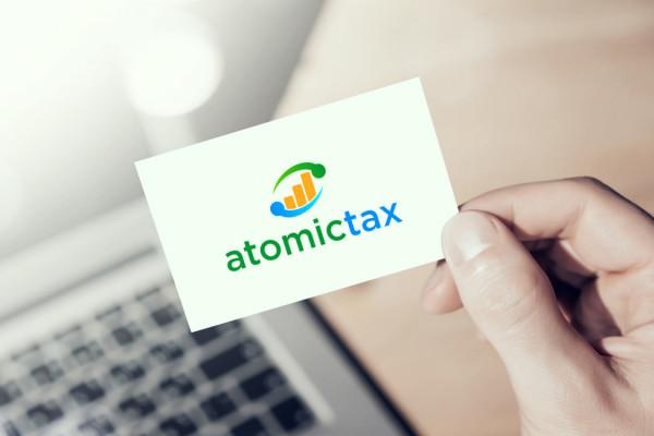 Sample branding #2 for Atomictax