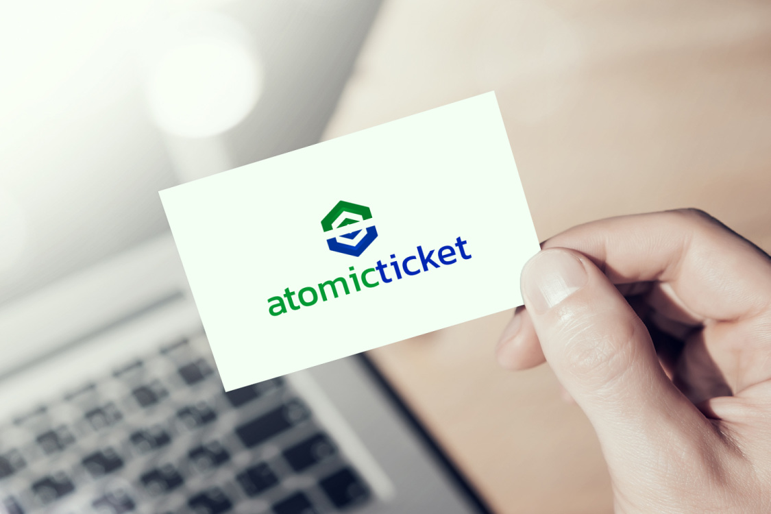 Sample branding #3 for Atomicticket