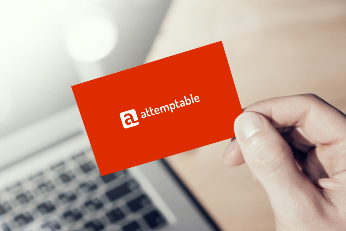 Sample branding #3 for Attemptable