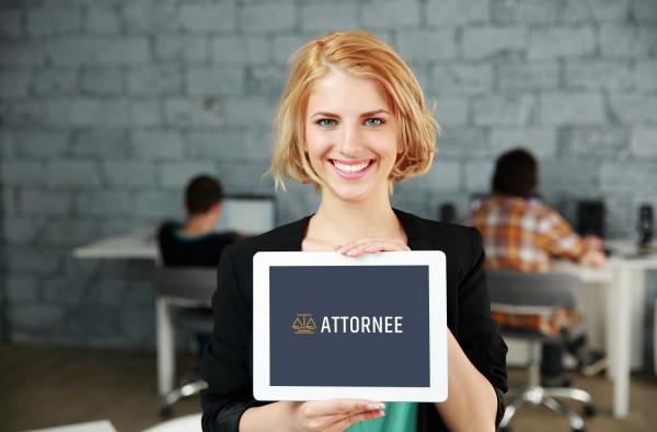 Sample branding #2 for Attornee