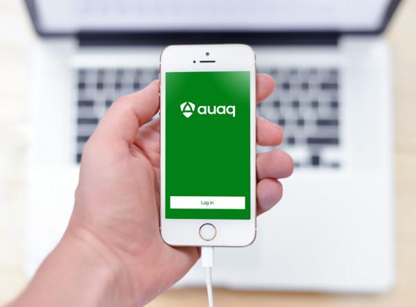 Sample branding #3 for Auaq