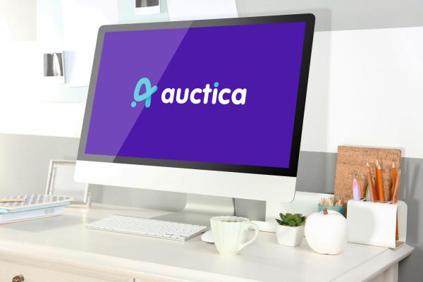 Sample branding #2 for Auctica