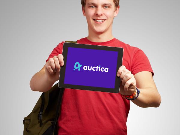 Sample branding #1 for Auctica