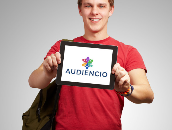 Sample branding #1 for Audiencio