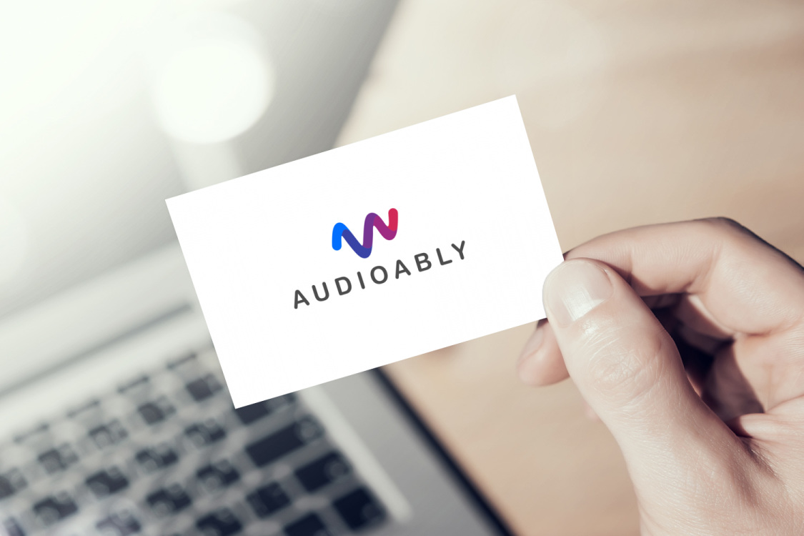 Sample branding #1 for Audioably