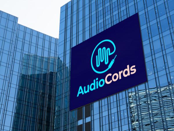 Sample branding #3 for Audiocords