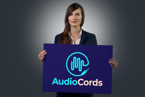 Sample branding #2 for Audiocords
