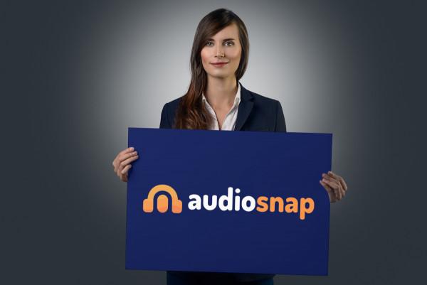 Sample branding #1 for Audiosnap