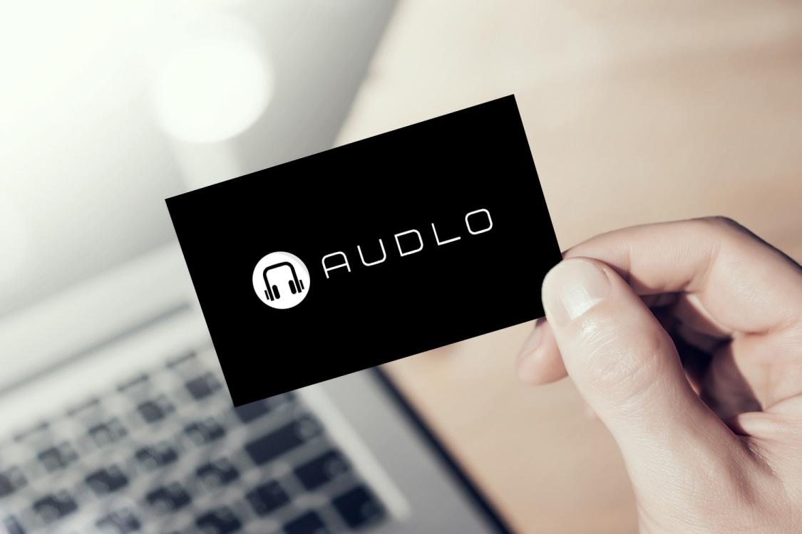 Sample branding #1 for Audlo