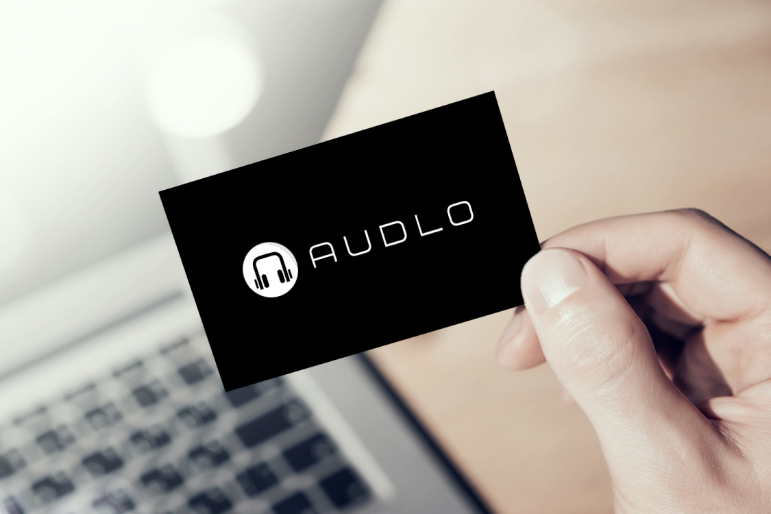 Sample branding #1 for Audlo