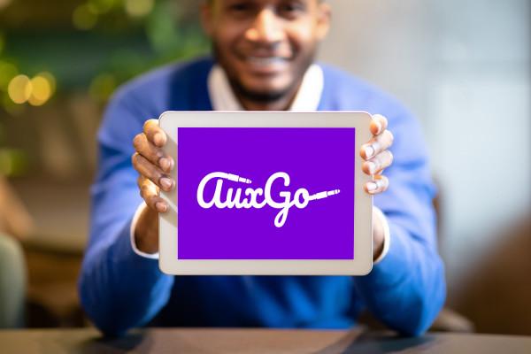 Sample branding #1 for Auxgo