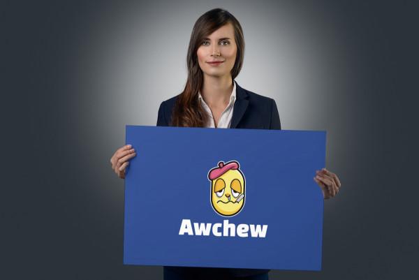 Sample branding #2 for Awchew