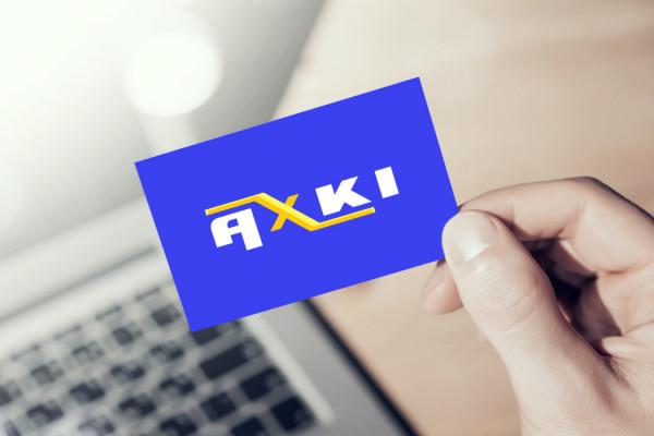 Sample branding #3 for Axki