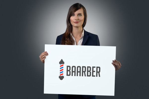 Sample branding #2 for Baarber