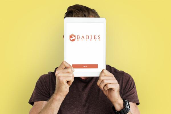 Sample branding #1 for Babiesdeluxe