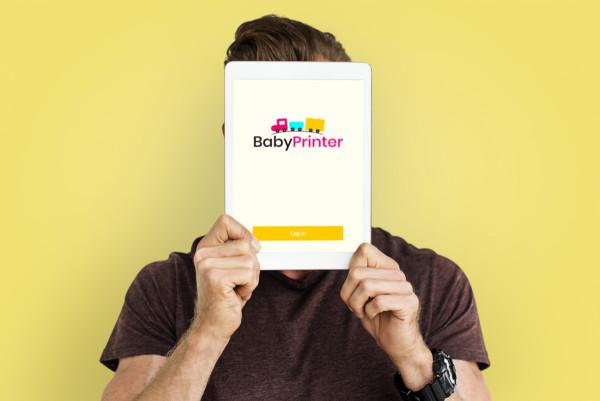 Sample branding #1 for Babyprinter