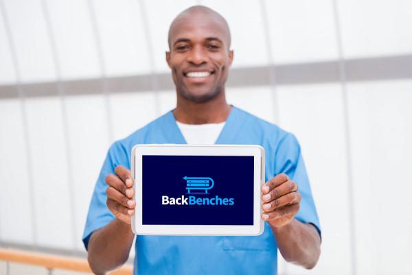 Sample branding #2 for Backbenches