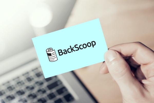 Sample branding #1 for Backscoop