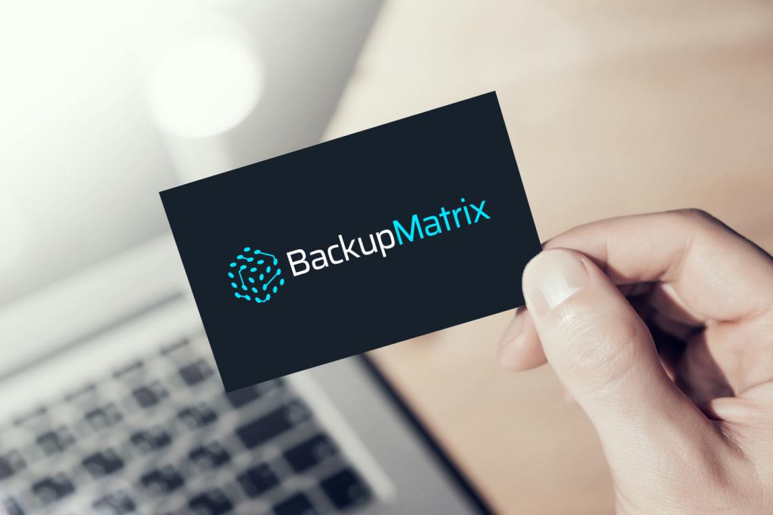 Sample branding #2 for Backupmatrix
