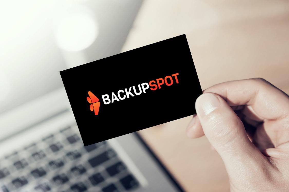 Sample branding #2 for Backupspot