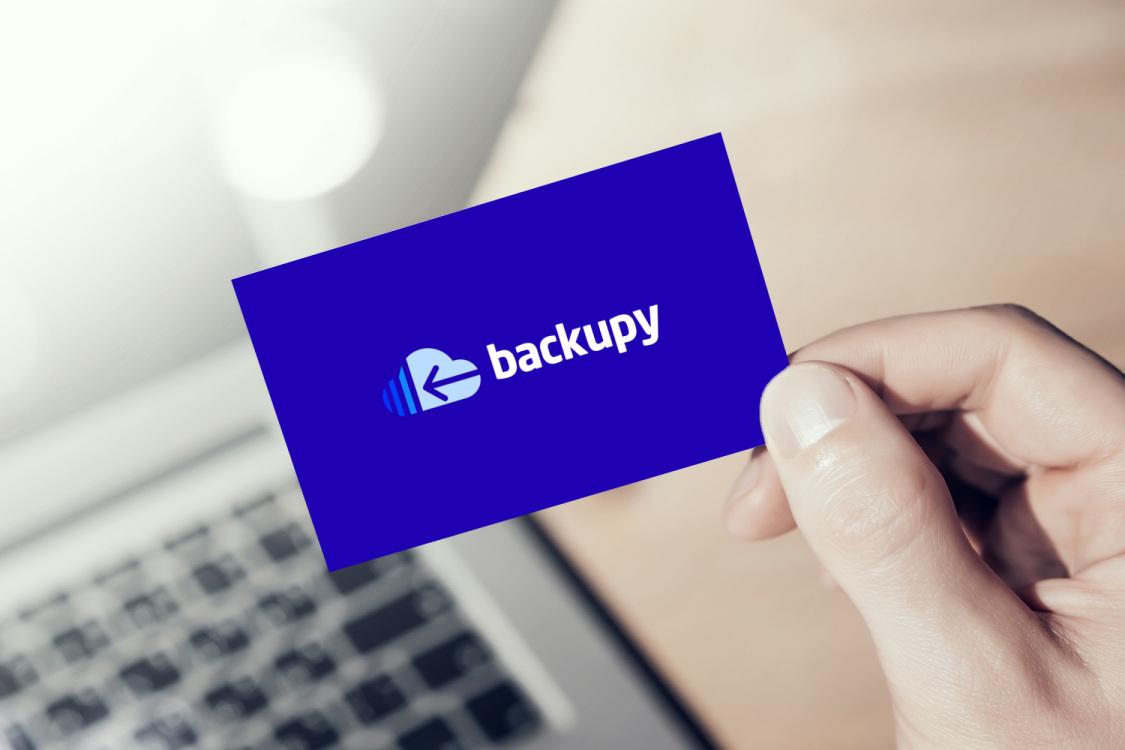 Sample branding #3 for Backupy