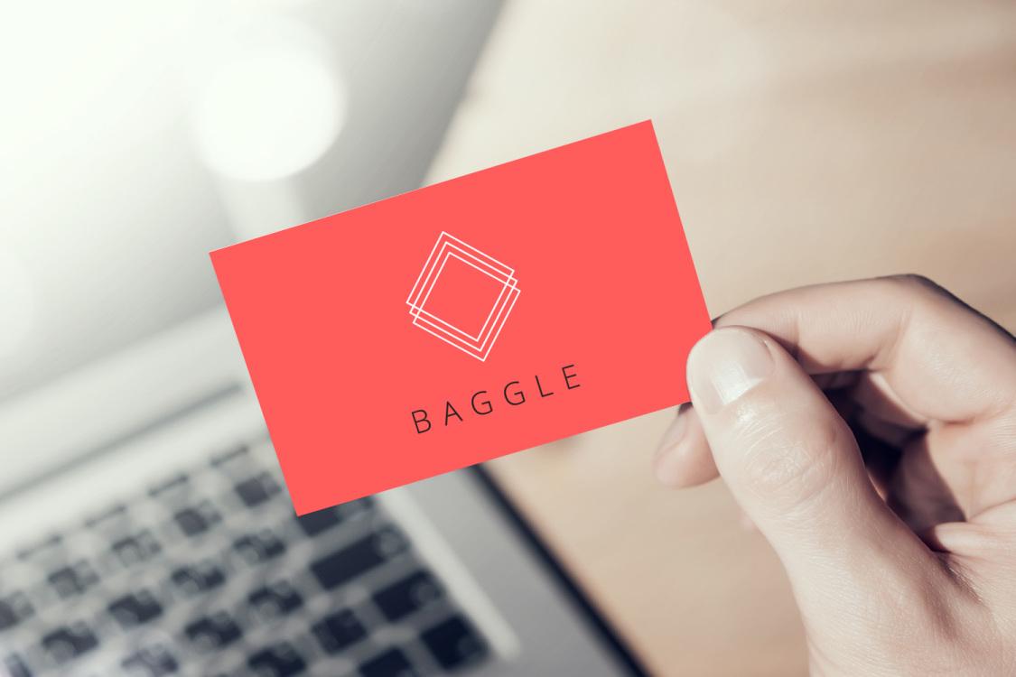 Sample branding #1 for Baggle