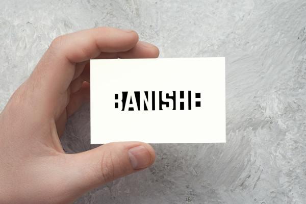 Sample branding #1 for Banishe