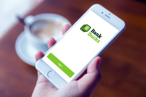 Sample branding #2 for Bankbucks