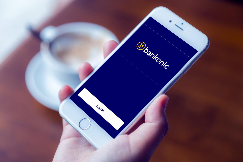Sample branding #2 for Bankonic